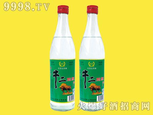 京宾牛二陈酿酒500ml