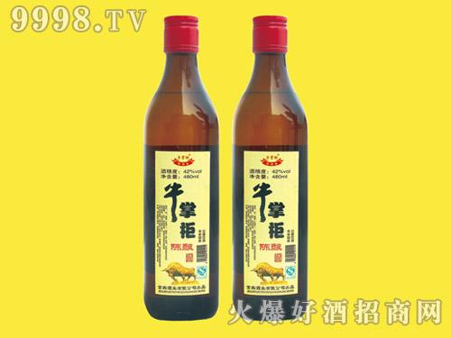 牛掌柜陈酿酒480ml×12(方瓶)