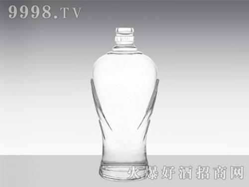 高白玻璃酒瓶迎宾郎XD-603-500ml