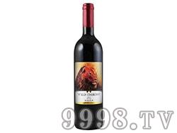 南非野性王座色拉子葡萄酒