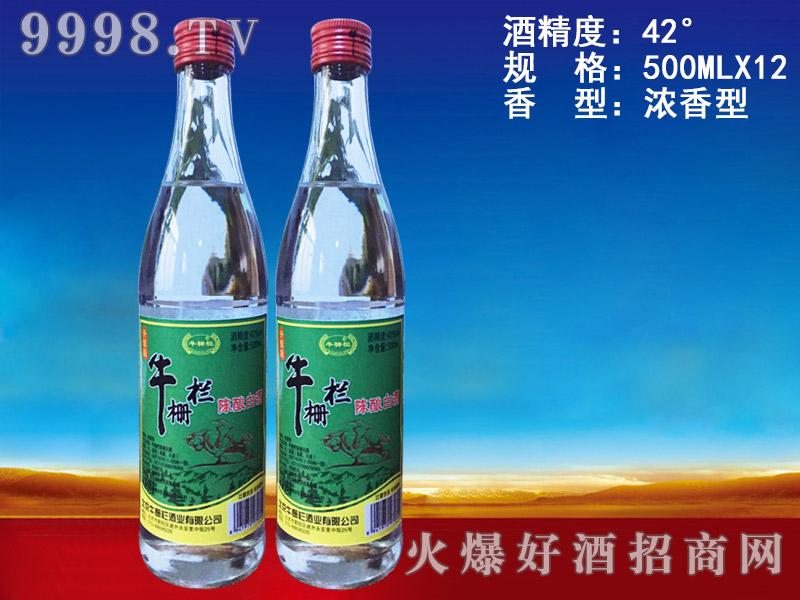 牛栅栏陈酿白酒500ml