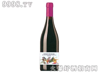 犹大之血甜红葡萄酒