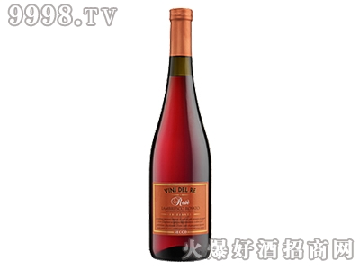 帝王之酒-玫瑰红蓝沐斯红葡萄酒