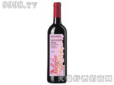 波纳达甜红葡萄酒