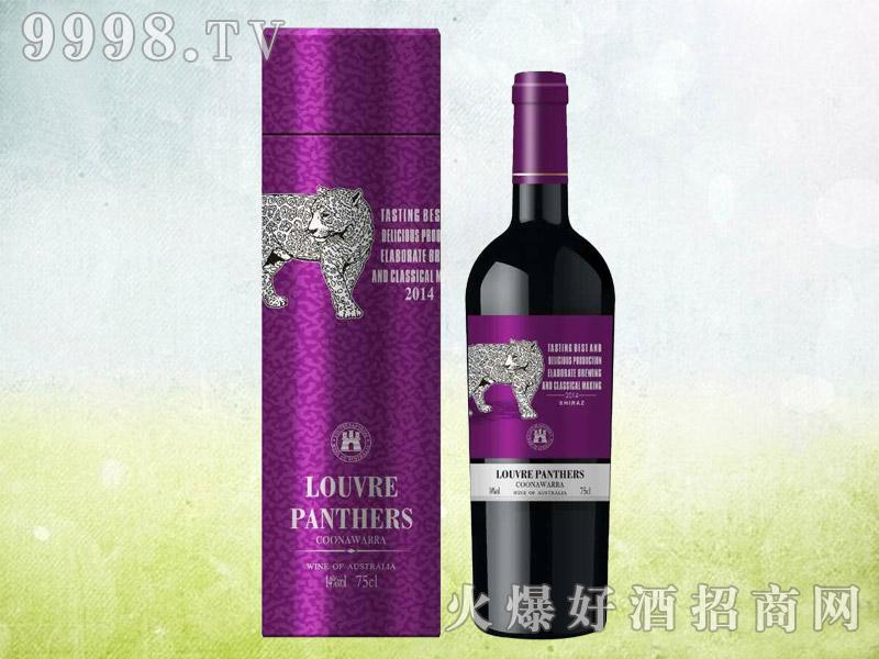 罗浮黑豹西拉干红葡萄酒2014