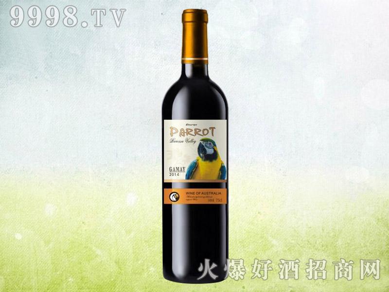鹦鹉西拉干红葡萄酒2014