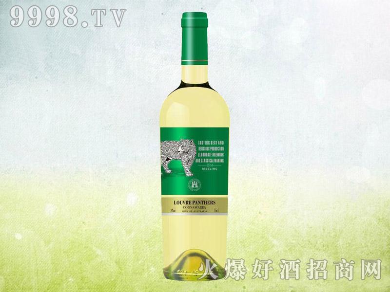 罗浮黑豹雷司令干白葡萄酒2014