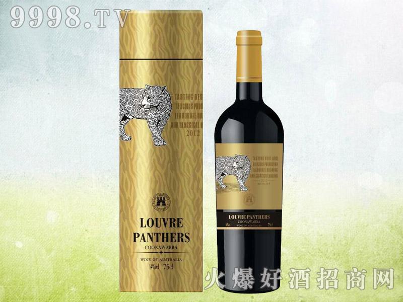 罗浮黑豹金钻干红葡萄酒2012