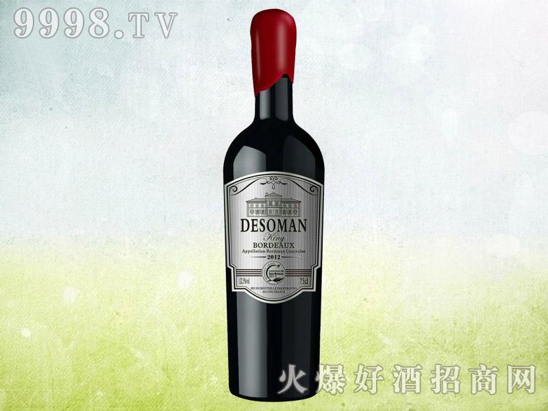 德索曼王者之路干红葡萄酒2012