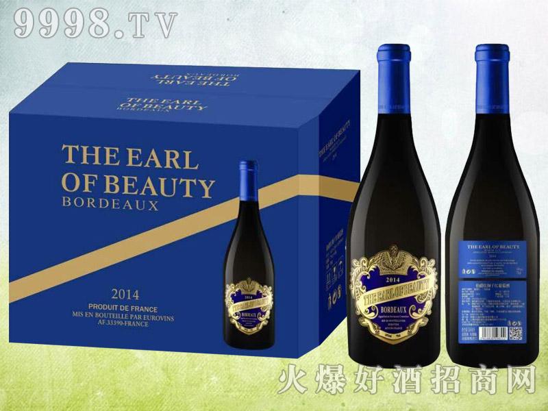 伯爵红颜干红葡萄酒2014