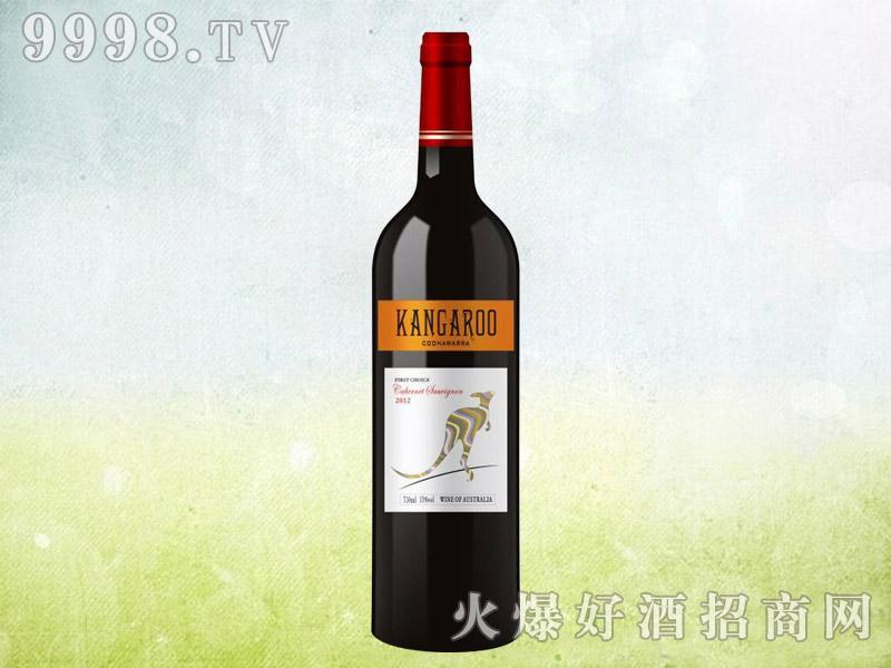 澳洲袋鼠干红葡萄酒2012(黄标)