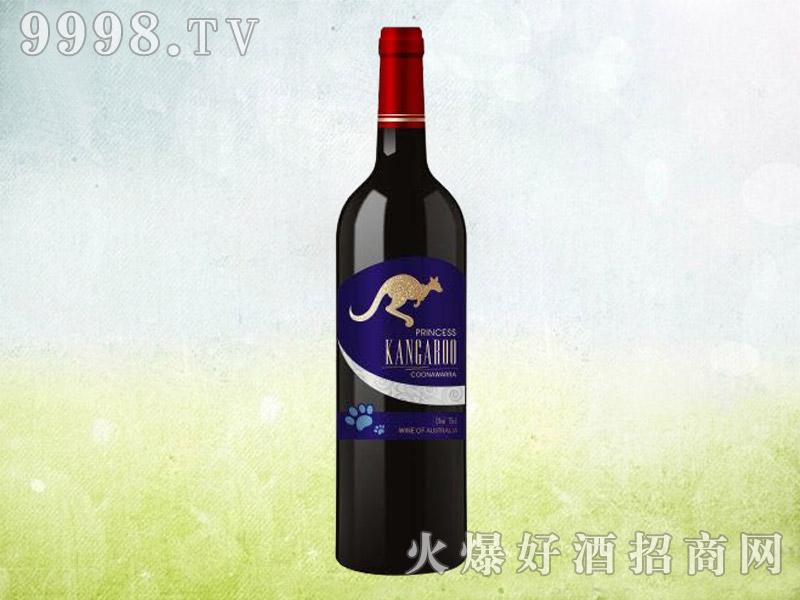 澳洲袋鼠干红葡萄酒(蓝标)