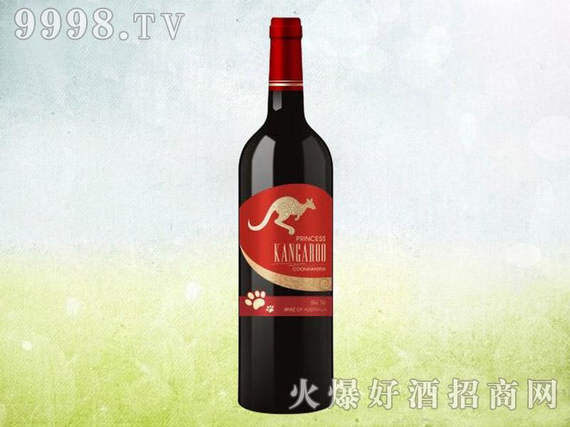 澳洲袋鼠干红葡萄酒(红标)