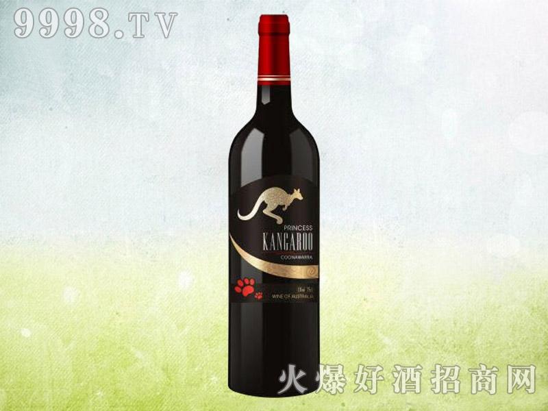 澳洲袋鼠干红葡萄酒(黑标)