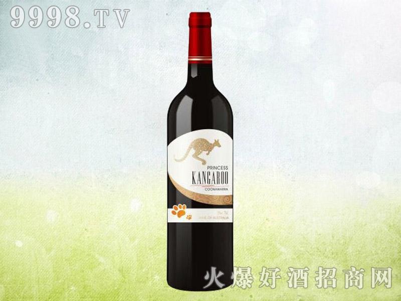 澳洲袋鼠干红葡萄酒(白标)