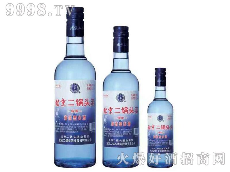 北京二锅头酒・绵柔(清香型)
