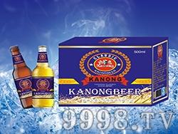 卡农啤酒蓝宝石500ml
