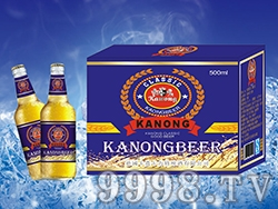 卡农啤酒蓝宝石500ml白瓶