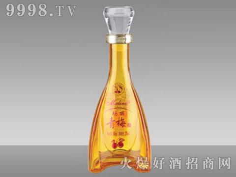 高白玻璃酒瓶HM-247青梅酒250-500ml