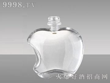 高白玻璃酒瓶HM-275苹果型150-400-500ml
