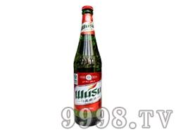 红乌苏啤酒