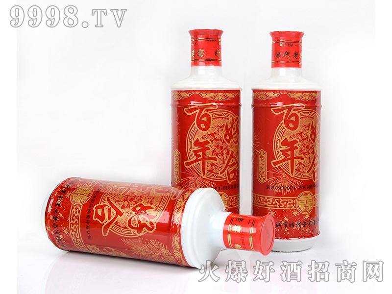 凤城时代老窖酒百年好合42°450ml