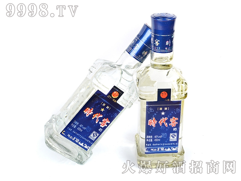 凤城时代老窖酒蓝一星42°450ml