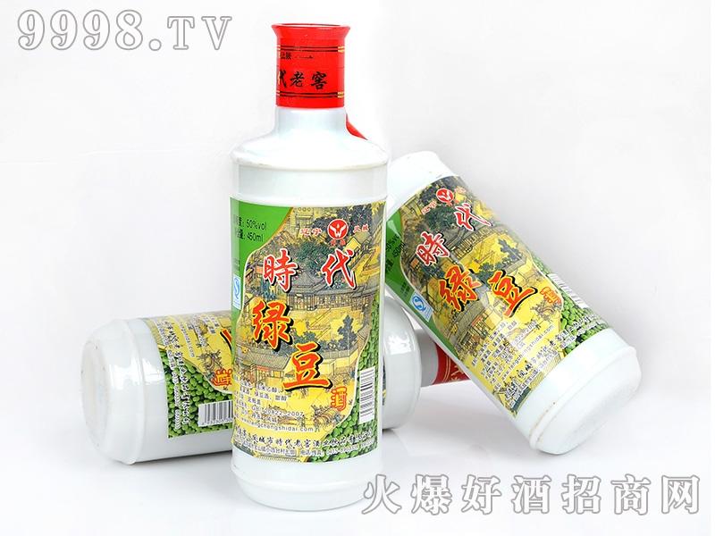 凤城时代老窖绿豆酒50°450ml