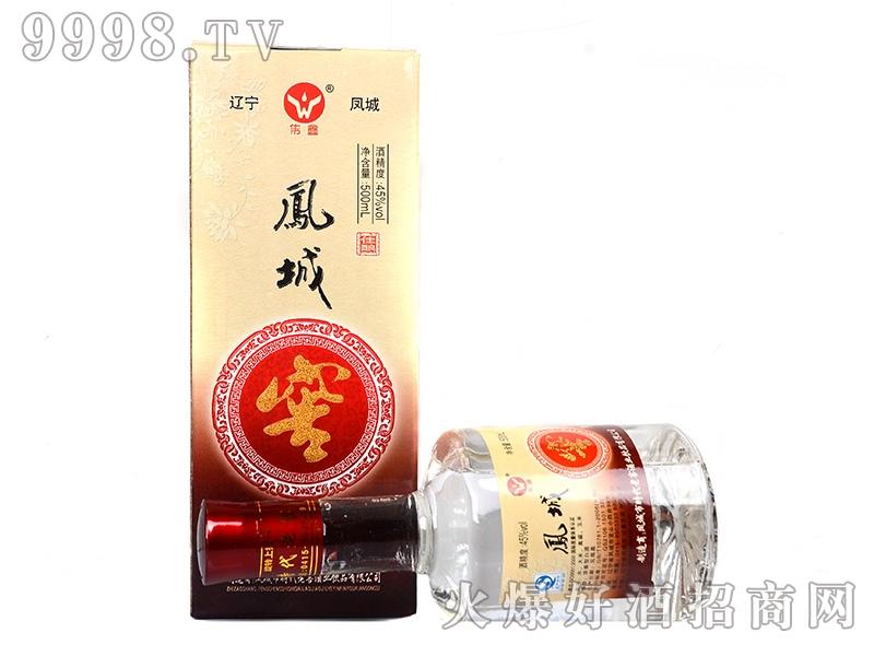 凤城时代窖酒礼盒45°500ml