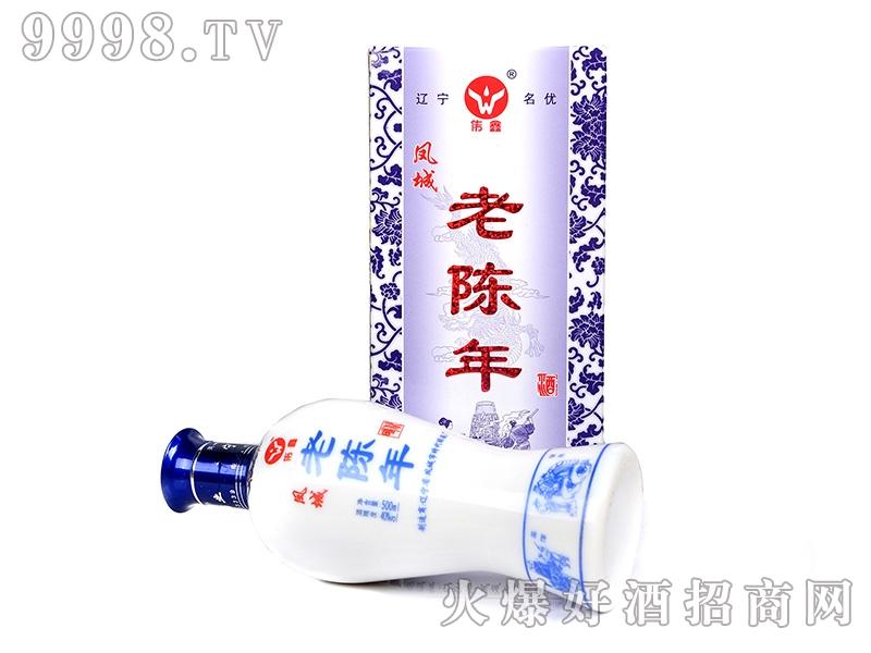 凤城时代酒老陈年礼盒40°500ml
