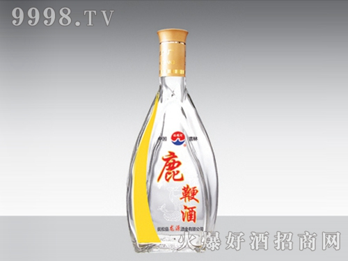 高白玻璃酒瓶鹿鞭酒HM-156-500ml