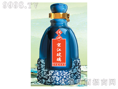 郓城龙腾包装精美雕刻瓶C-006珍藏原浆