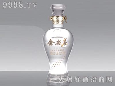 郓城龙腾包装精白玻璃瓶913金尖庄