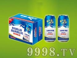 500ml头道麦啤酒蓝罐1x12听