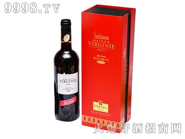 法国卡思黛乐惟诘尼珍酿干红葡萄酒