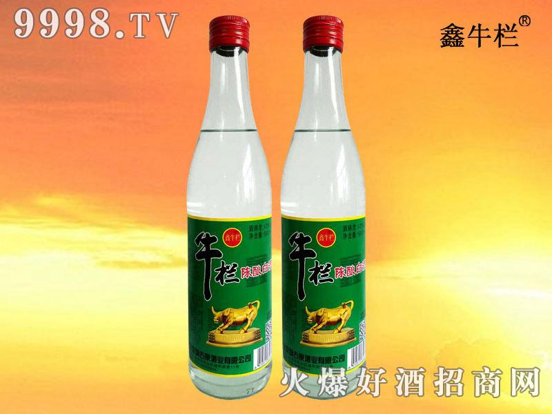 鑫牛栏陈酿白酒42度500ml