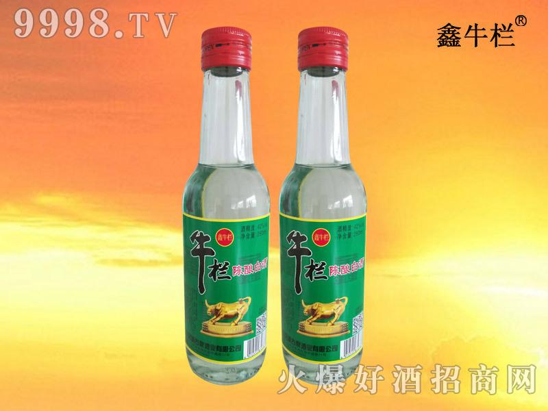 鑫牛栏陈酿白酒42度260ml