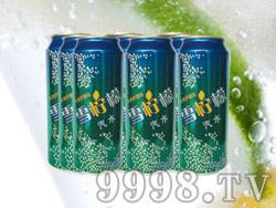 海润德雪柠檬果味饮料500ml×9罐