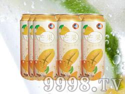 海润德芒果果味饮料500ml×9罐