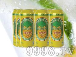 海润德菠萝啤果味饮料500ml×9罐
