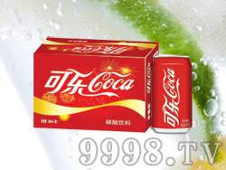 海润德可乐碳酸饮料320ml×24罐