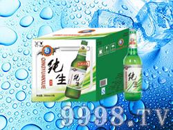 海润德纯生态啤酒500ml×12瓶