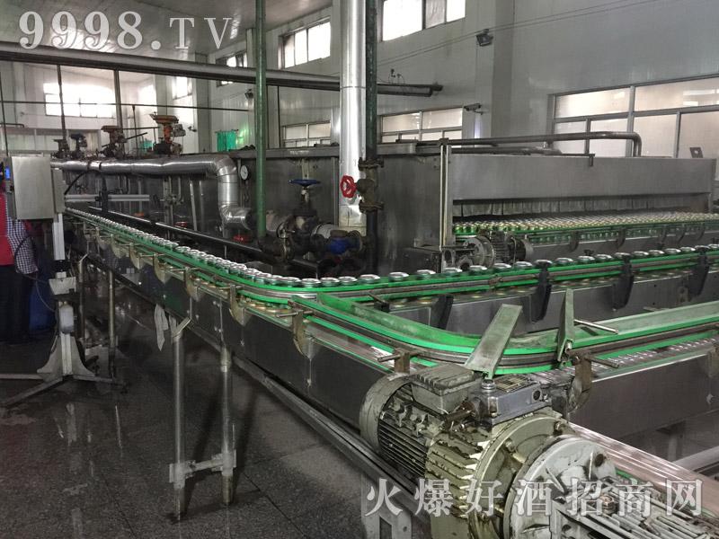德朗麦啤车间生产线