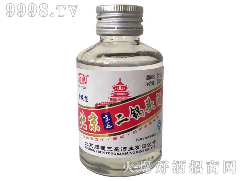 北京京通二锅头酒58°100ml