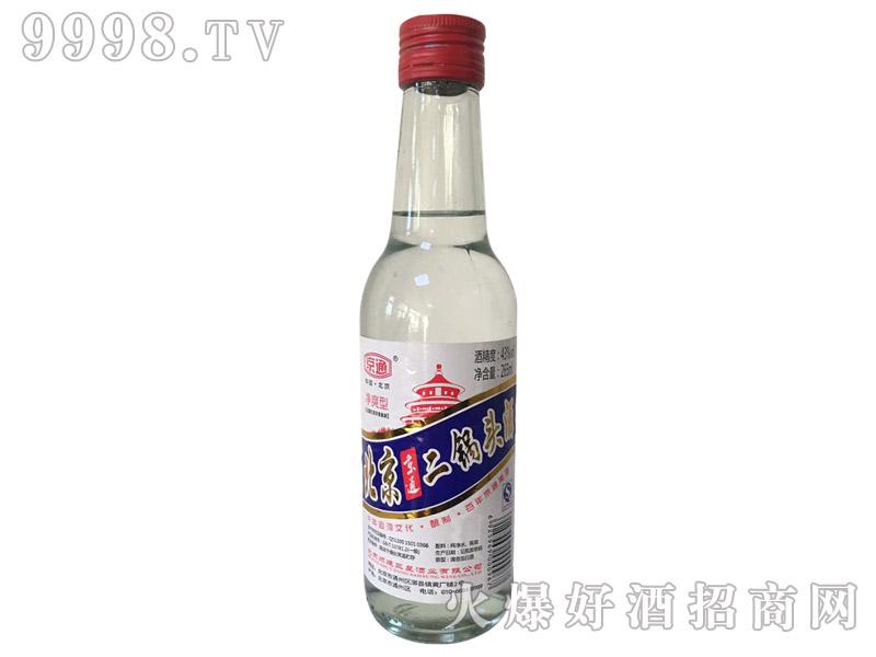 北京京通二锅头酒43°265ml