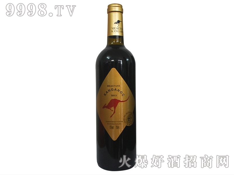 米爵袋鼠・赤霞珠干红葡萄酒