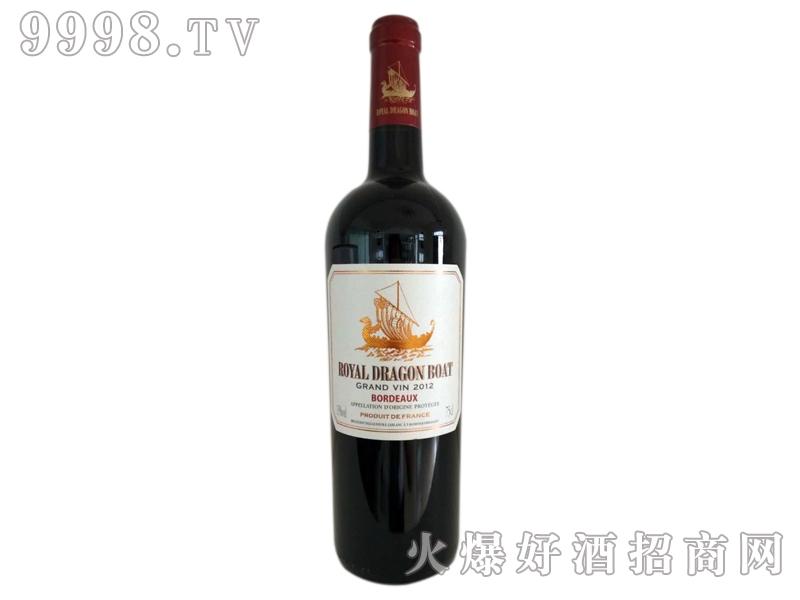 御皇龙船皇爵干红葡萄酒