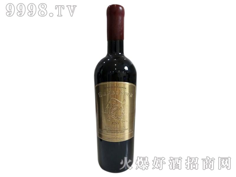 巴菲狮铜牌干红葡萄酒