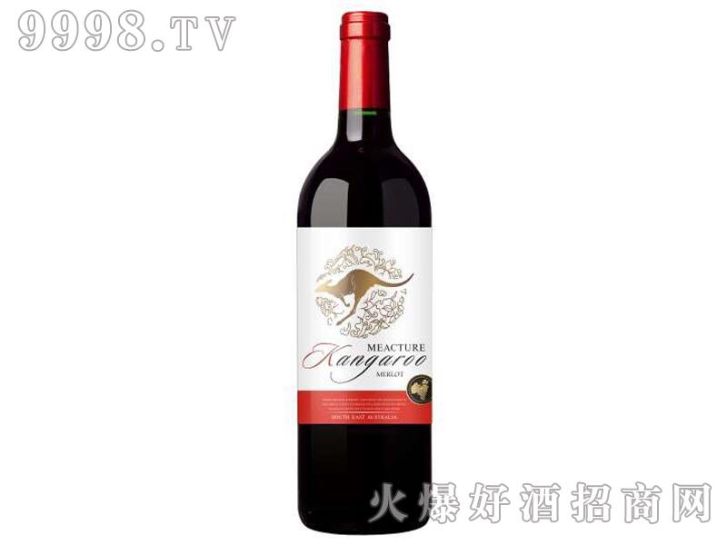 米爵袋鼠西拉干红葡萄酒