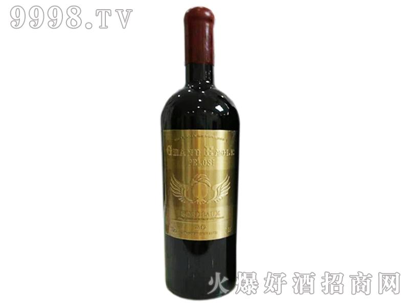 爵佩鹰金牌干红葡萄酒